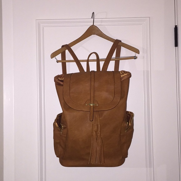 Mossimo Supply Co. Handbags - Brown Leather Backpack